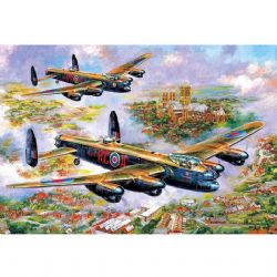 GIBSONS -  LANCASTERS OVER LINCOLN (500 PIÈCES)