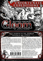 GLOOM 2ND EDITION -  UNFORTUNATE EXPEDITIONS
