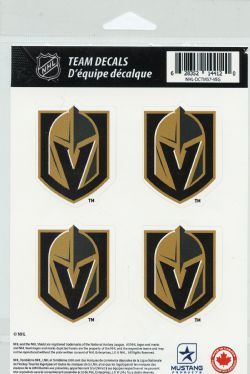 GOLDEN KNIGHTS DE VEGAS -  PAQUET AUTOCOLLANTS