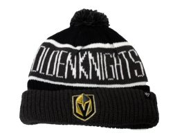 GOLDEN KNIGHTS DE VEGAS -  TUQUE À POMPOM
