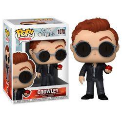 GOOD OMENS -  FIGURINE POP! EN VINYLE DE CROWLEY (10 CM) 1078