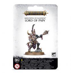 GRAND ALLIANCE CHAOS -  LORD OF PAIN -  HEDONITES OF SLAANESH