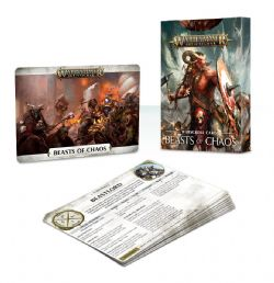 GRAND ALLIANCE CHAOS -  WARSCROLL CARDS (FRANCAIS) -  BEASTS OF CHAOS