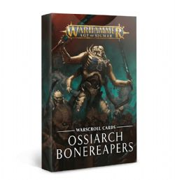 GRAND ALLIANCE DEATH -  WARSCROLL CARDS (ANGLAIS) -  OSSIARCH BONEREAPERS