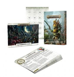GRAND ALLIANCE DESTRUCTION -  WARSCROLL CARDS (FRANÇAIS) -  GLOOMSPITE GITZ
