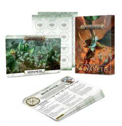 GRAND ALLIANCE ORDER -  WARSCROLL CARDS (ANGLAIS) -  SYLVANETHS