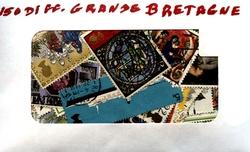 GRANDE-BRETAGNE -  150 DIFFÉRENTS TIMBRES - GRANDE-BRETAGNE