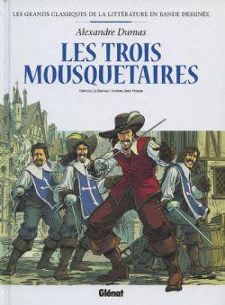GRANDS CLASSIQUES DE LA LITTÉRATURE EN BANDE DESSINÉE, LES -  LES TROIS MOUSQUETAIRES 01