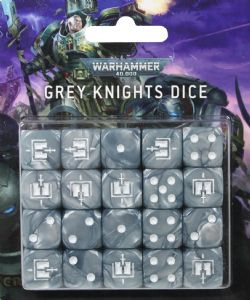 GREY KNIGHTS -  ENSEMBLE DE DÉS