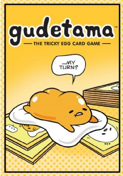 GUDETAMA: THE TRICKY EGG CARD GAME (ANGLAIS)