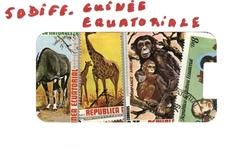 GUINEE EQUATORIALE -  50 DIFFÉRENTS TIMBRES - RÉPUBLIQUE DE LA GUINÉE ÉQUATORIALE