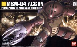 GUNDAM -  MSM-04 ACGUY PRINCIPALITY OF ZEON MASS PRODUCTIVITY -  UNIVERSAL CENTURY