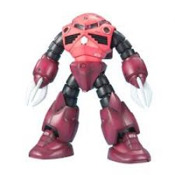 GUNDAM -  MSM-07S Z'GOK - 1/100 SCALE - MASTER GRADE -  PRINCIPALITY OF NEON CHAR'S CUSTOM TYPE AMPHIBIOUS MOBILE SUIT