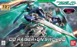 GUNDAM -  OO RAISER + GN SWORD 1/144 -  MOBILE SUIT GUNDAM