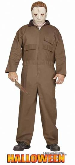 HALLOWEEN -  COSTUME DE MICHAEL MYERS (ADULTE - TAILLE UNIQUE)