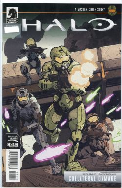 HALO -  COLLATERAL DAMAGE #1 (OF 3)