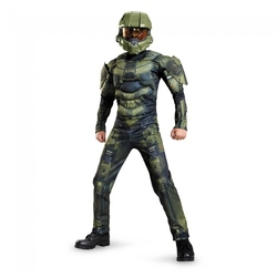 HALO -  COSTUME DE MASTER CHIEF MUSCLE (ENFANT)