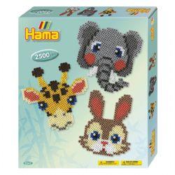 HAMA BEADS -  BOÎTE CADEAU (2500 PIECES)