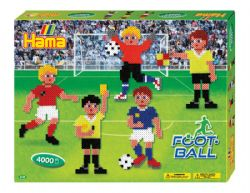 HAMA BEADS -  FOOTBALL (4000 PIECES)