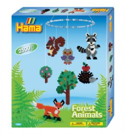 HAMA BEADS -  FOREST ANIMALS (2500 PIECES)