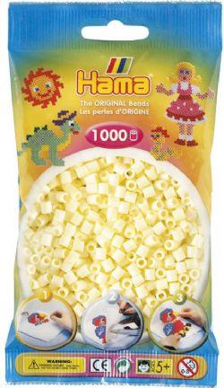HAMA BEADS -  PERLES - CRÈME (1000 PIECES)