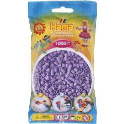 HAMA BEADS -  PERLES - VIOLET PASTEL (1000 PIECES)