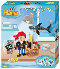 HAMA BEADS -  PIRATE (2500 PIECES)