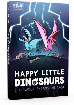 HAPPY LITTLE DINOSAURS -  5-6 PLAYER EXPANSION PACK (ANGLAIS)