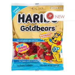 HARIBO -  JUJUBES GOLD-BEARS ÉDITION ÉTÉ (113G)