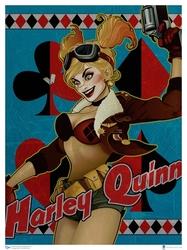 HARLEY QUINN -  ART PRINT DC BOMBSHELLS