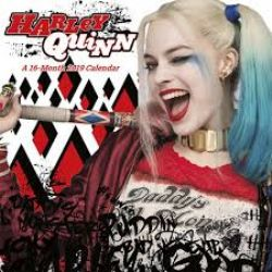 HARLEY QUINN -  CALENDRIER FANTASY SUICIDE SQUAD 2019 (16 MOIS)