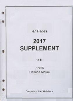 HARRIS CANADA -  SUPPLÉMENT 2017