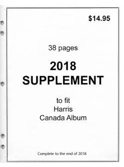 HARRIS CANADA -  SUPPLÉMENT 2018