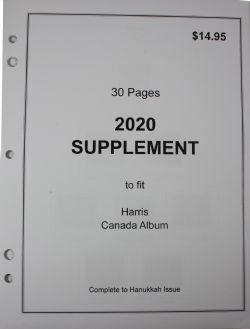 HARRIS CANADA -  SUPPLÉMENT 2020 (SANS POCHETTES)