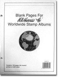 HARRIS MONDE -  PAGES BLANCHES POUR ALBUMS HARRIS MONDE