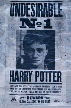 HARRY POTTER -  AFFICHE