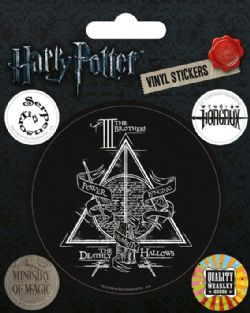 HARRY POTTER -  AUTOCOLLANT DEATHLY HALLOWS