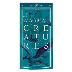 HARRY POTTER -  BANNIÈRE MURALE CRÉATURES MAGIQUES (47CM X 95CM)