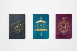 HARRY POTTER -  COLLECTION DE CARNET DE POCHE SORTILÈGES (PAQUET DE 3)