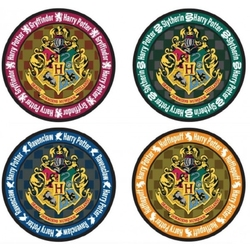 HARRY POTTER -  ENSEMBLE DE 4 SOUS-VERRES
