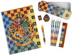 HARRY POTTER -  ENSEMBLE PAPETERIE -  POUDLARD