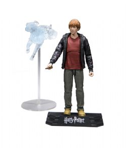 HARRY POTTER -  FIGURINE DE RON WEASLEY (18CM) -  WIZARDING WORLD COLLECTION