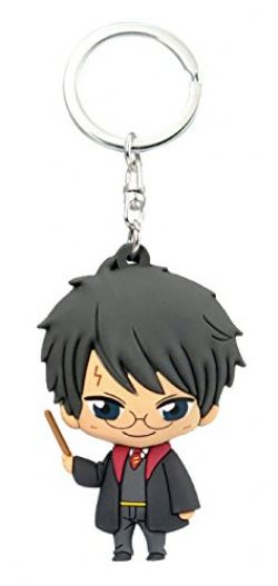 HARRY POTTER -  KAWAII PVC FIGURINE PORTE CLEF DE HARRY POTTER