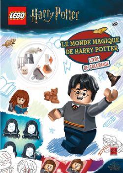 HARRY POTTER -  LEGO HARRY POTTER : LE MONDE MAGIQUE DE HARRY POTTER : LIVRE DE COLORIAGE