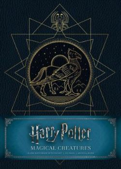HARRY POTTER -  MAGICAL CREATURES - CAHIER D'ESQUISSES COUVERTURE SOLIDE (192 PAGES)