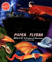 HARRY POTTER -  PAPER FLYERS - BUILD & FLY 11 CREATURES & CHARACTERS
