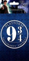 HARRY POTTER -  PLATFORM 9 3/4 HOGWARTS EXPRESS - AUTOCOLLANT