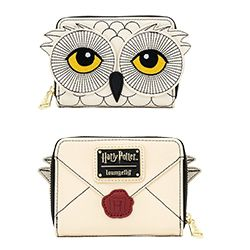 HARRY POTTER -  PORTE-FEUILLES HEDWIGE -  LOUNGEFLY