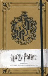 HARRY POTTER -  POUFSOUFFLE - CARNET DE NOTES COUVERTURE SOLIDE (192 PAGES)