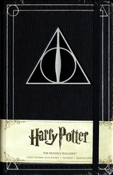 HARRY POTTER -  RELIQUES DE LA MORT - CARNET DE NOTES COUVERTURE SOLIDE (192 PAGES)